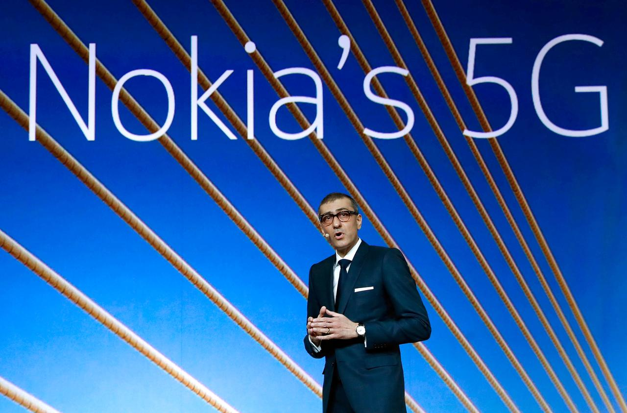 Image result for Nokia CEO sees possible benefits from Huawei tensions