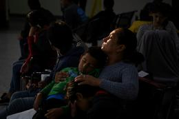 Migrants released from overcrowded U.S. border facility