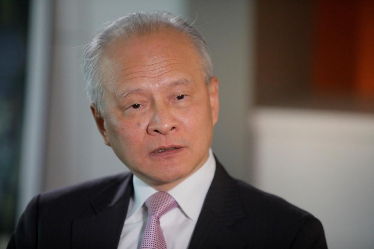Chinese ambassador says Beijing ready for further trade talks