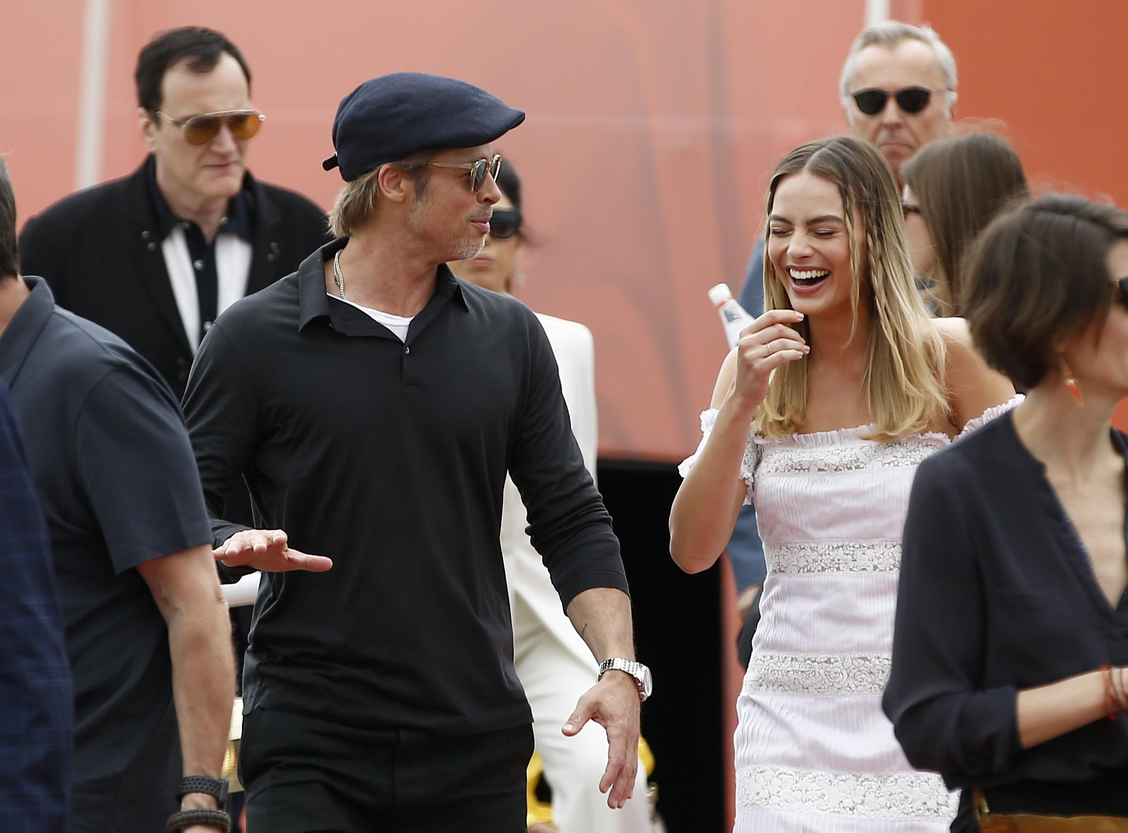 Tarantino did not tell Polanski about film set against