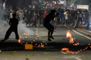 Indonesia plunges into post-election unrest