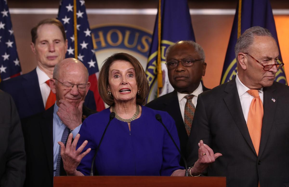 I Hope Democrats Get It Together Before >> Trump Torpedoes Meeting With Democrats Blasts Pelosi S Cover Up