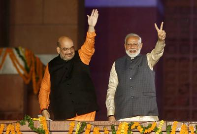 Modi's BJP sweeps India elections