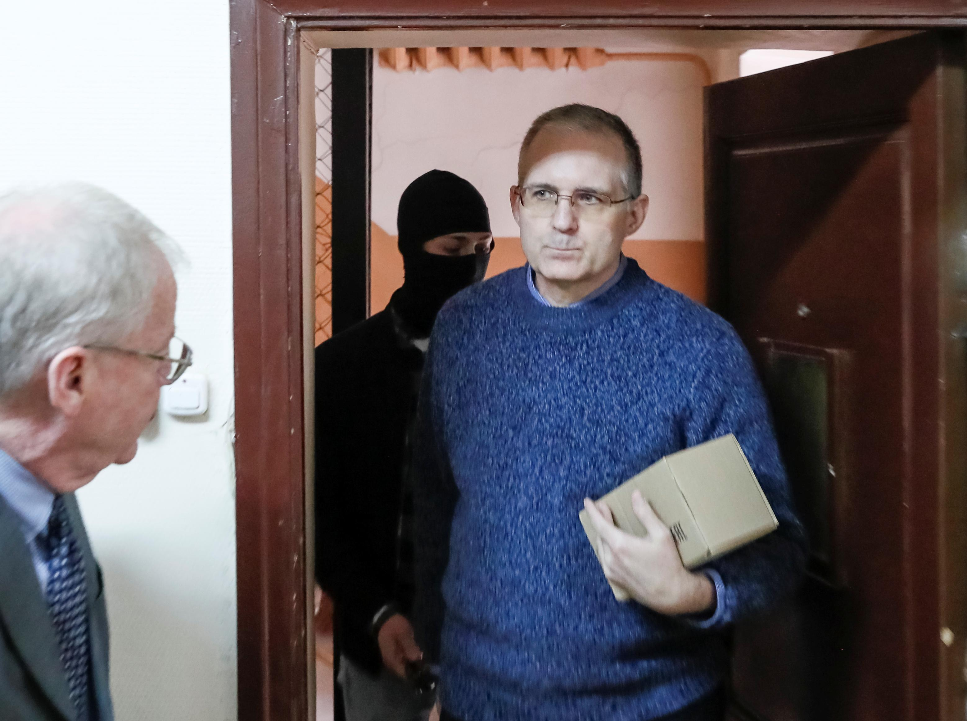 Ex-U.S. Marine held by Russia on spying charge complains of threats