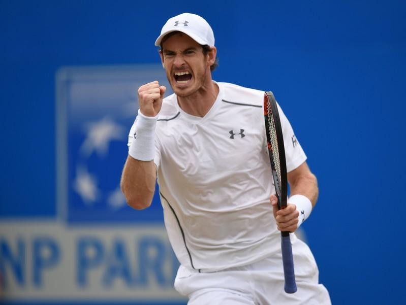 Murray set to play doubles at Queen's Club