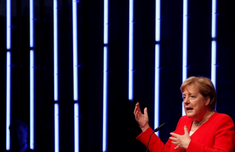 Merkel says international corporate tax situation unfavourable for Germany