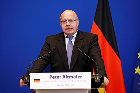 Germany's economy minister proposes power tax cuts if there were tougher CO2 decisions