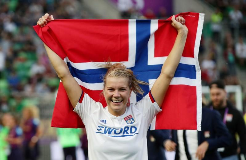 timeless design 1e11f 28112 Soccer: Hegerberg 'mentally broken' by Norway national team ...
