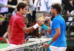 Previous Nadal v Federer clashes at French Open