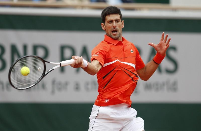 Djokovic vs. Thiem French semi-final to resume on Saturday