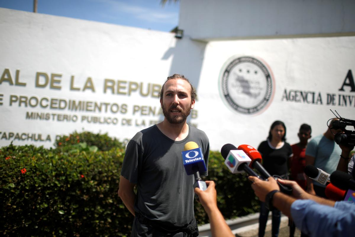 Rights group says Mexico puts activists on trial to win over Trump