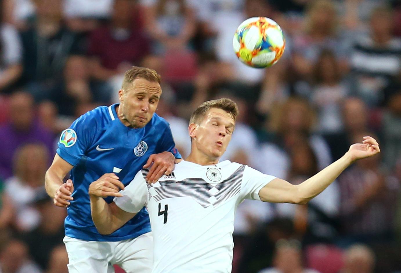Germany crush Estonia 8-0, Northern Ireland earn late win
