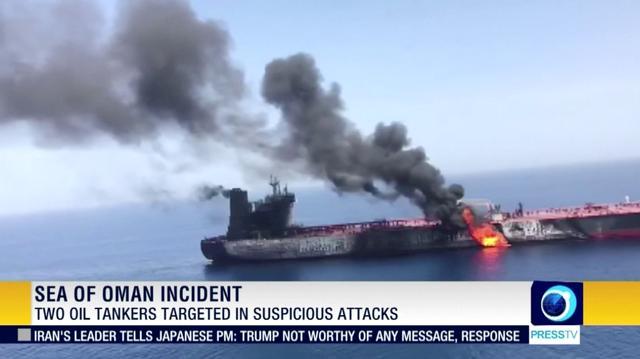 Trump says 'Iran did do it,' as U S  seeks support on Gulf oil