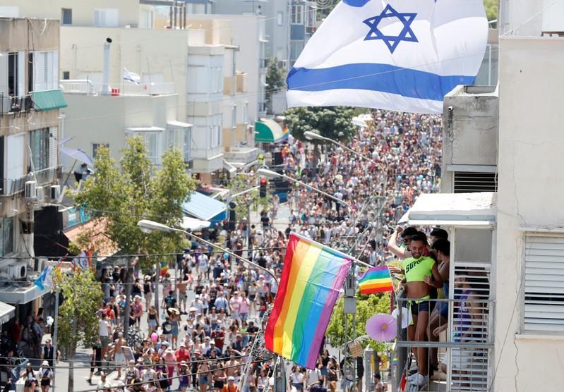 Tel Aviv runs rainbow colors at jubilant pride parade