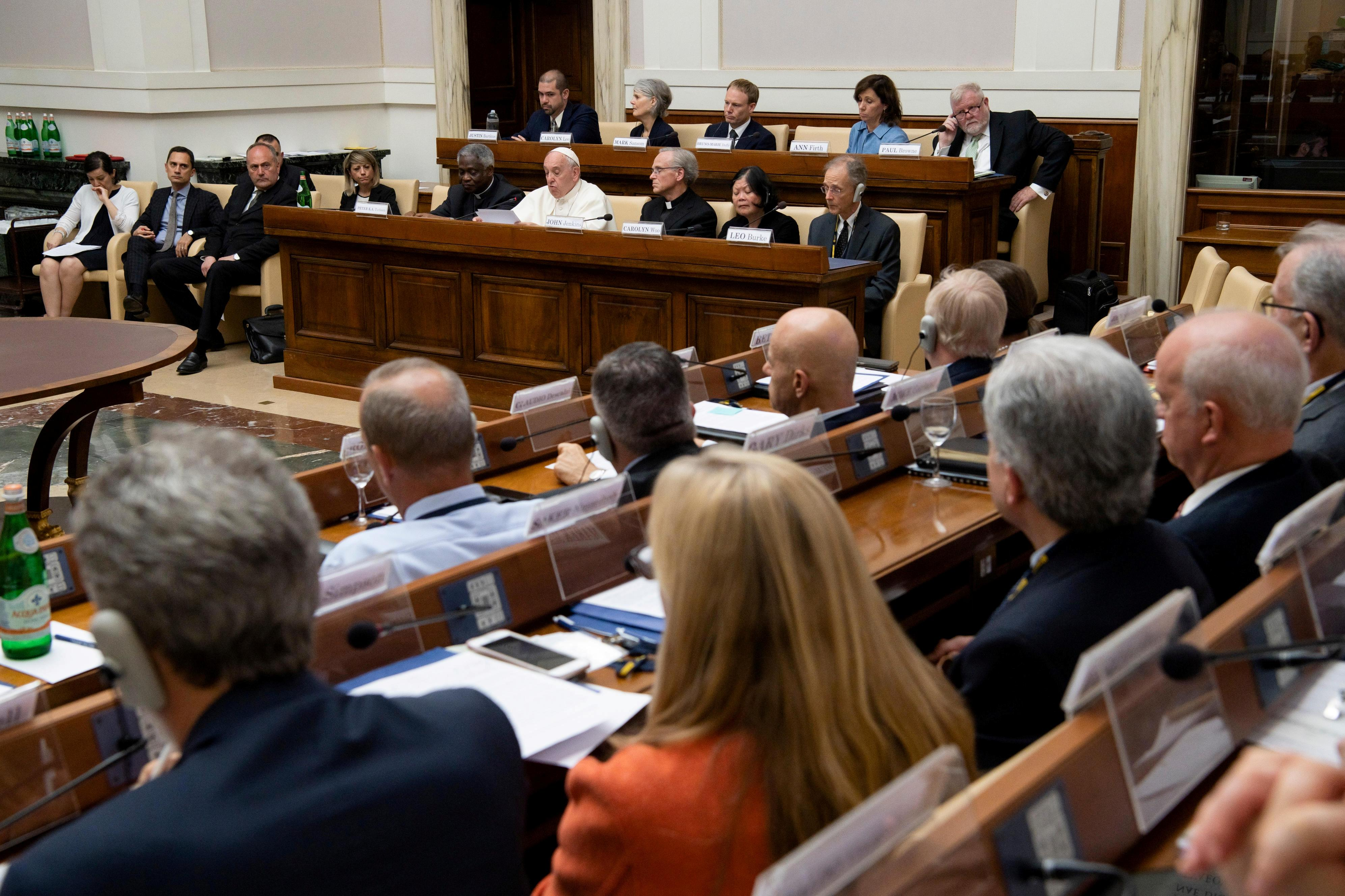 Pope backs carbon pricing to stem global warming and appeals to deniers
