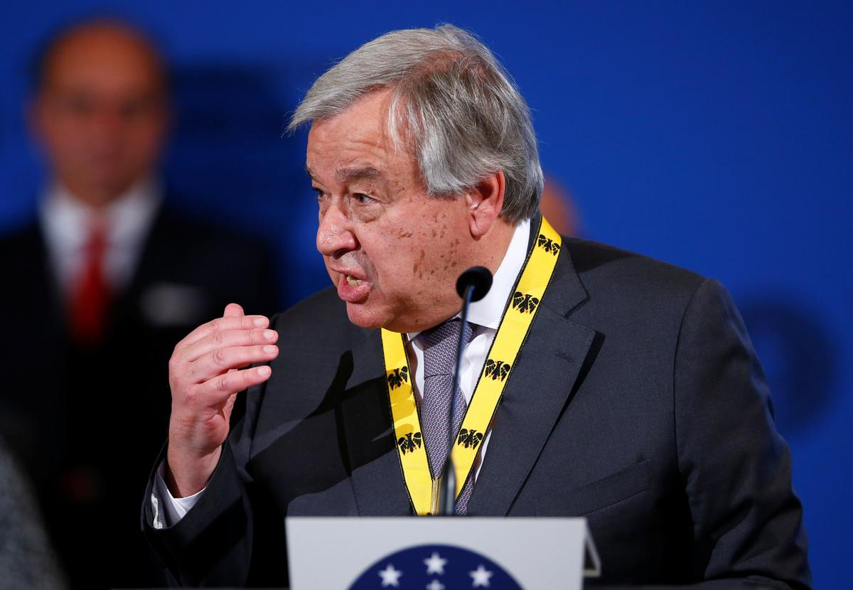 U.N. chief calls for independent probe into Gulf tanker attacks