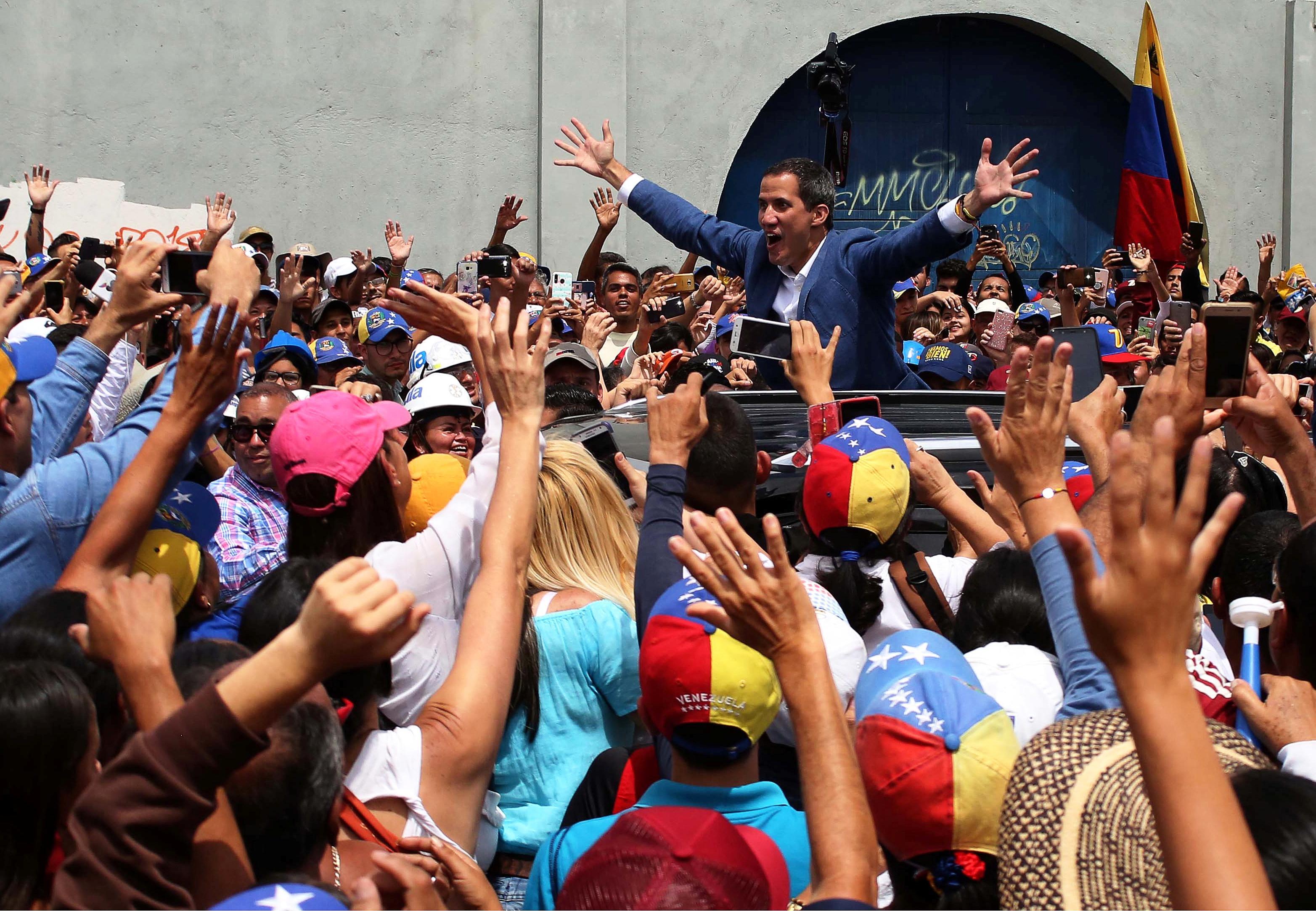 Venezuela's Guaido calls for probe into funds for military defectors