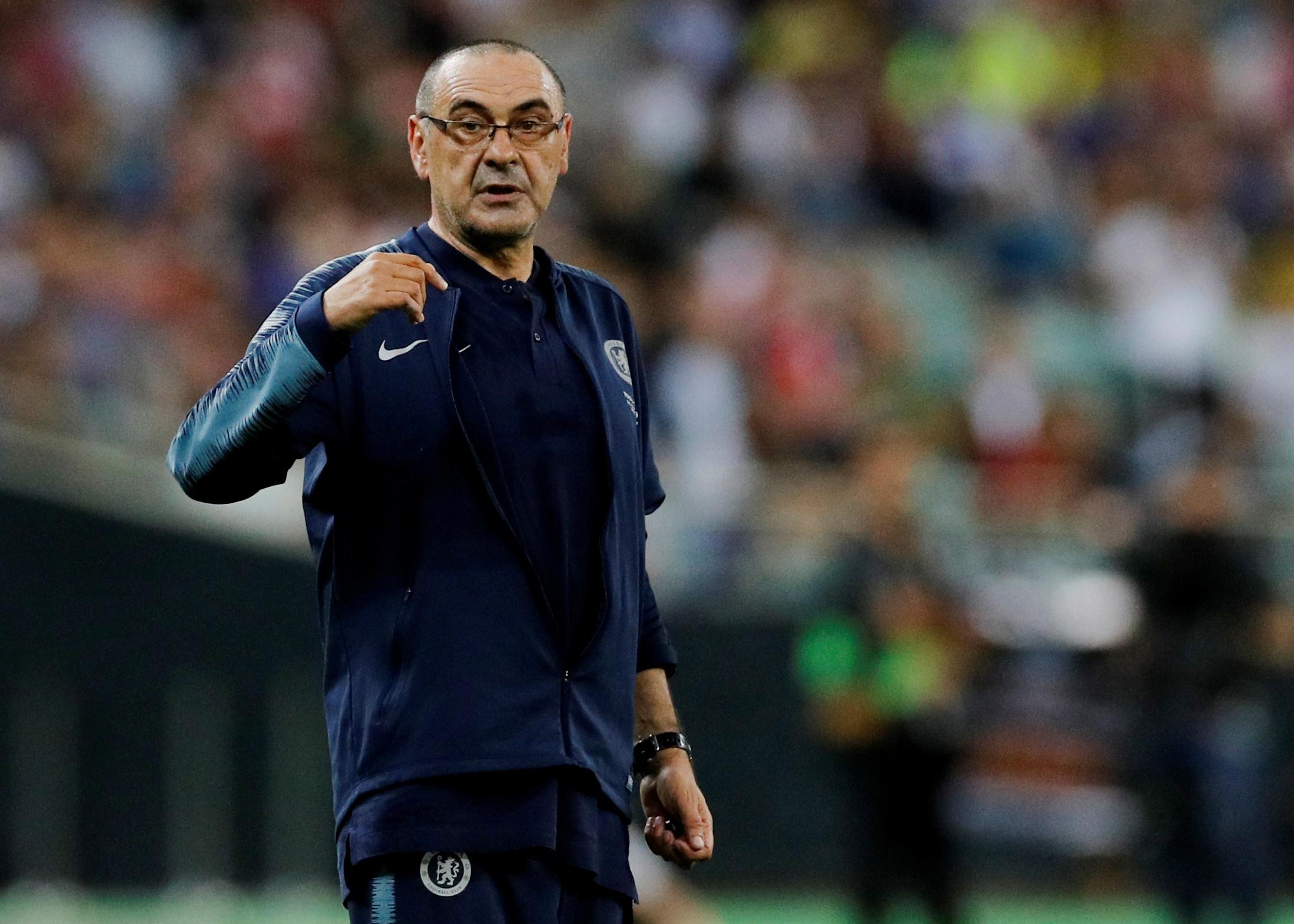 Sarri returns to Italy to coach Juventus
