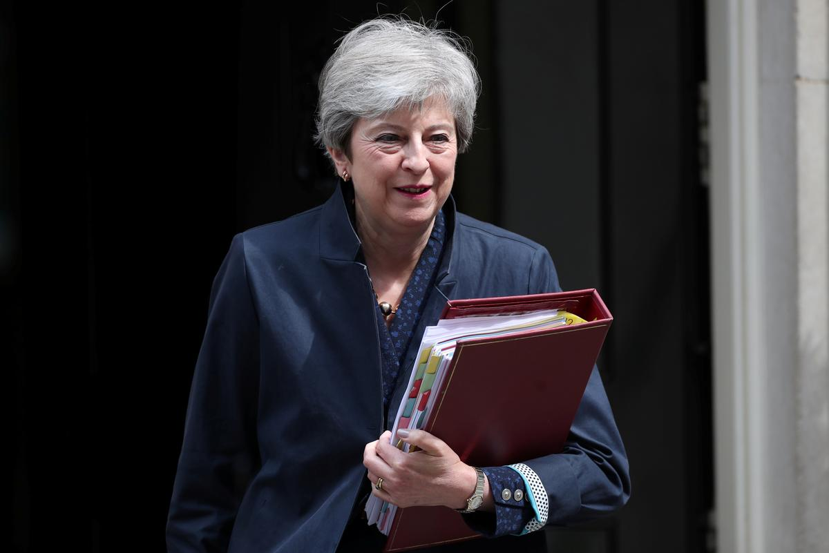 British PM May could meet Russia's Putin at G20: The Times