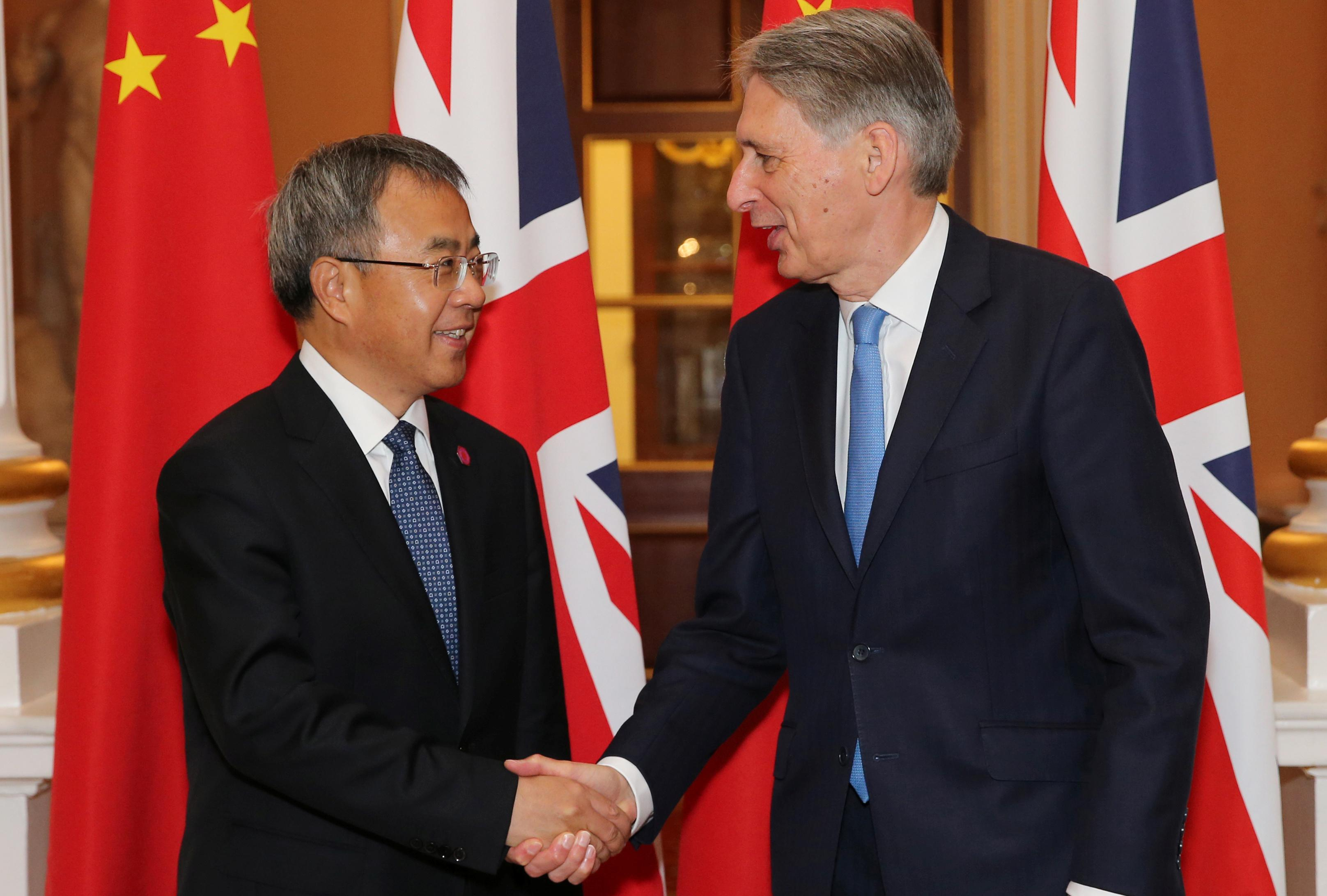UK and China to speed up plans for bond trading connection: Hammond