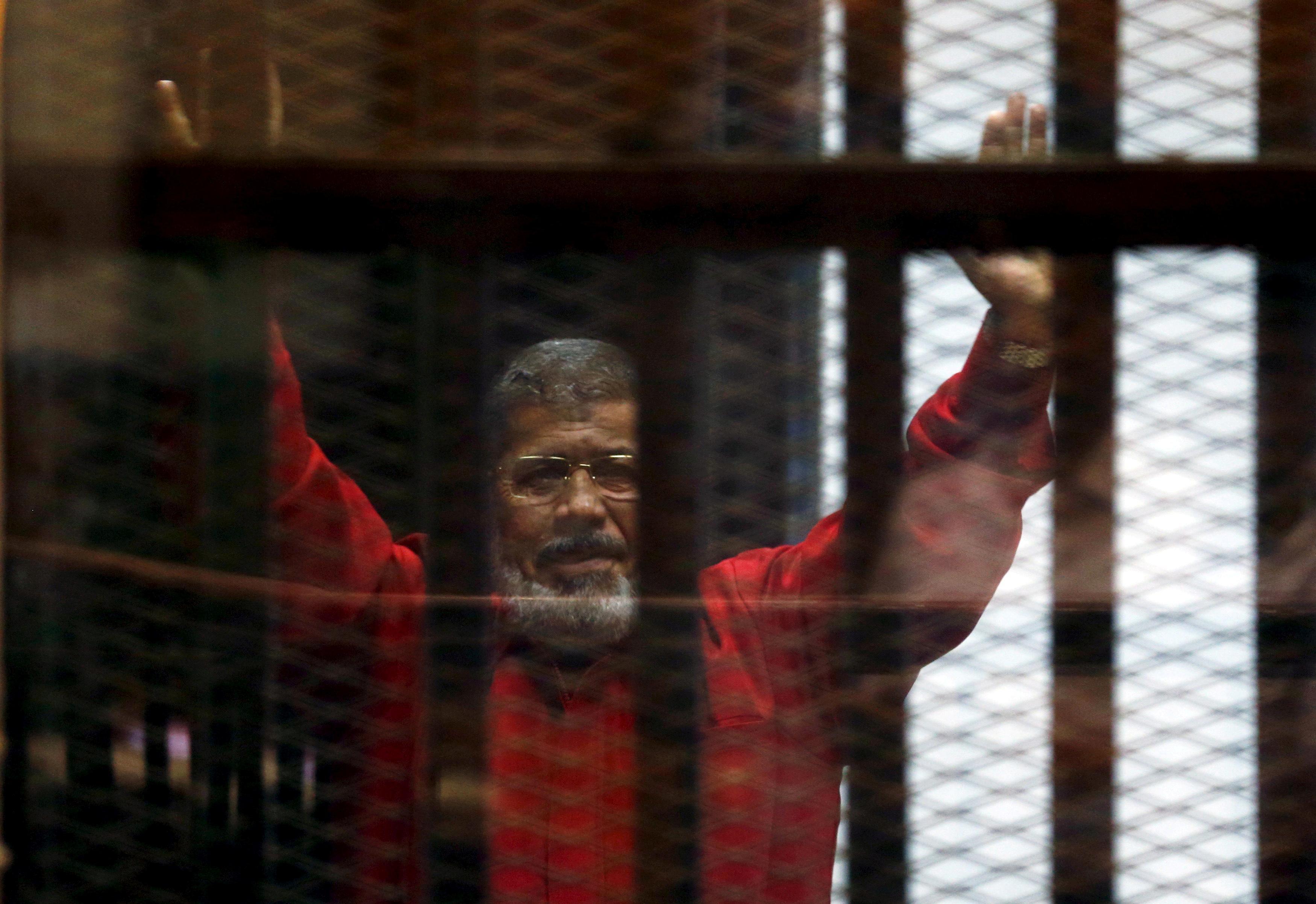 Egypt's former president Mursi dies: state television
