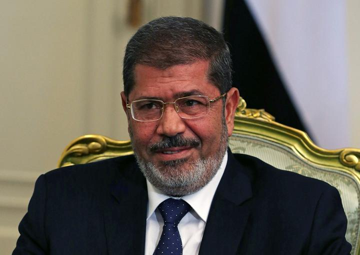 FILE PHOTO: Egypt's President Mursi participates in a meeting with U.S....