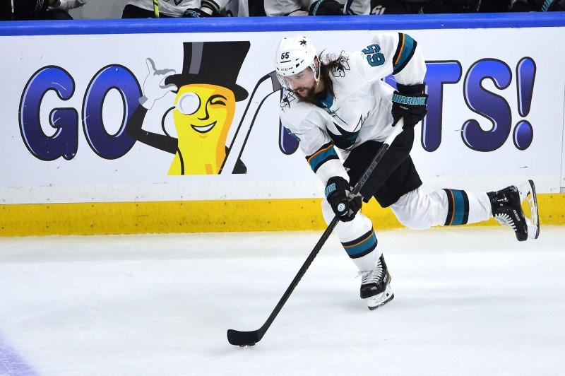sale retailer ed519 45e83 Karlsson, Sharks agree to eight-year contract - Reuters