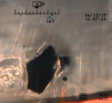 U.S. military releases new images from oil tanker attacks