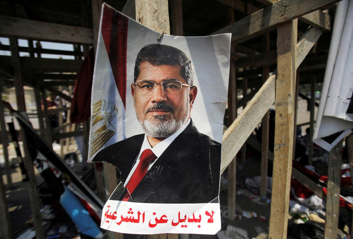 Former Egyptian president Mursi died from a heart attack: state TV