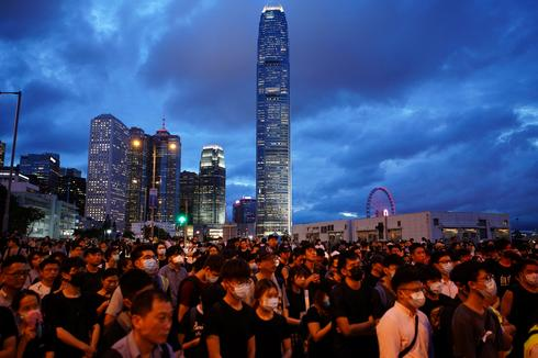 Second weekend of mass protests in Hong Kong