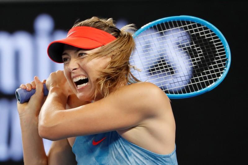 Sharapova to face Kerber as both win in Mallorca