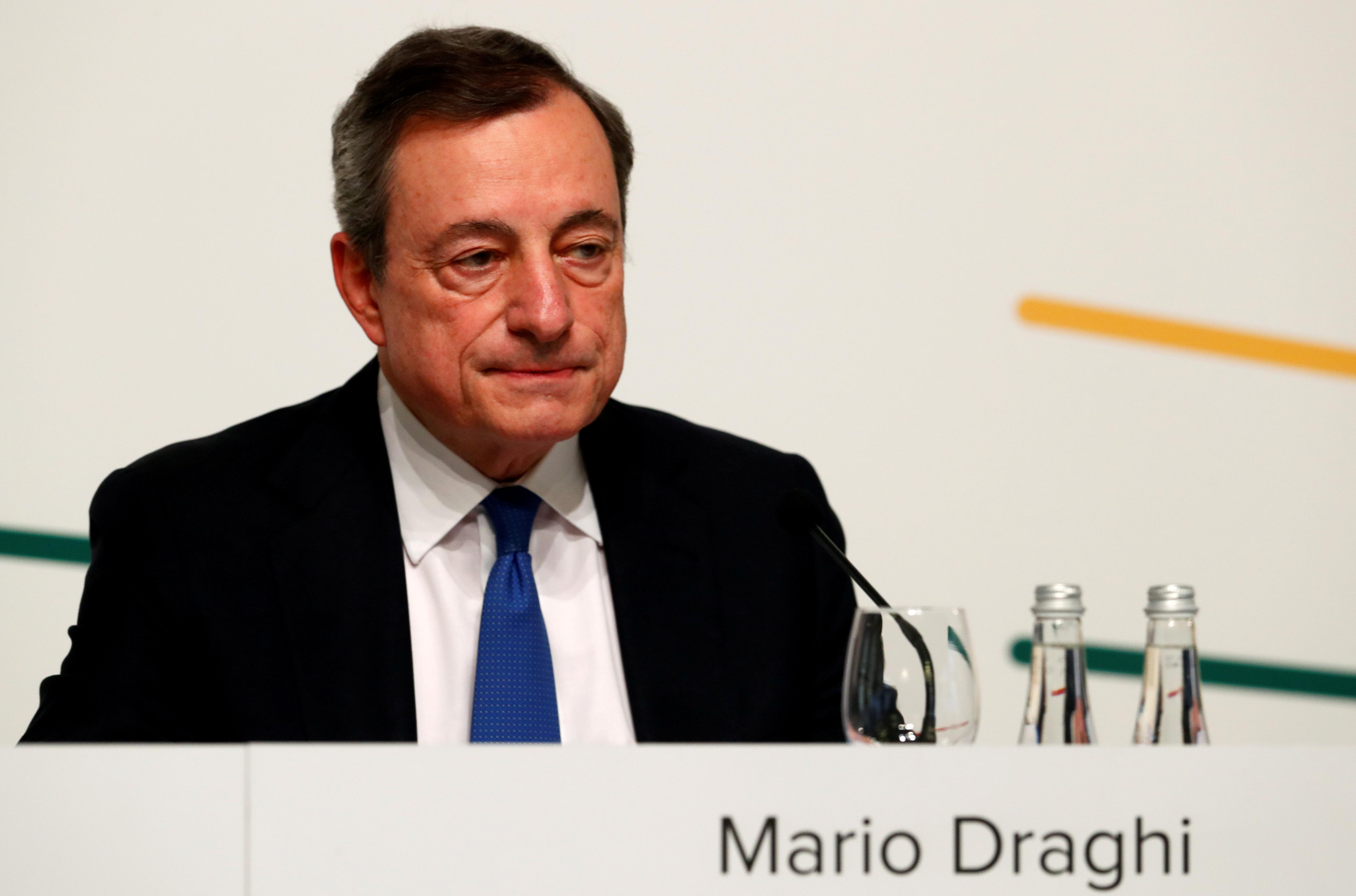 Daily Briefing: Even on way out, Draghi calls the shots