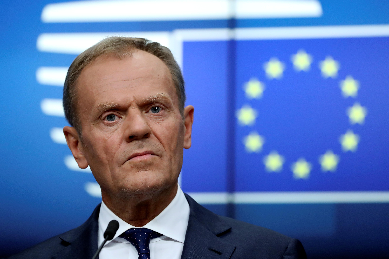 Tusk pushes against Franco-German tussle over top EU jobs