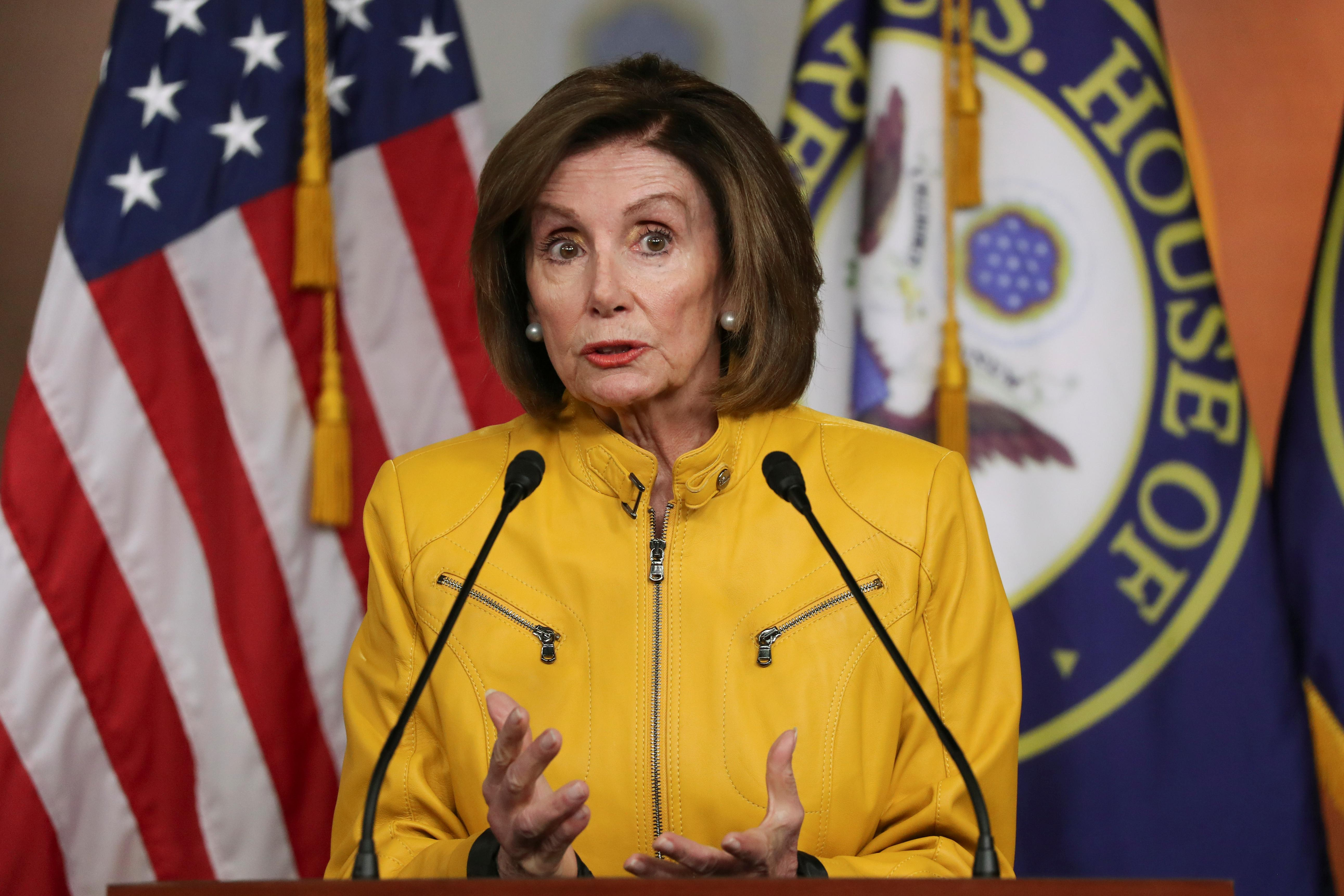U.S. House Speaker Pelosi on Trump: 'If the goods are there, you must impeach'