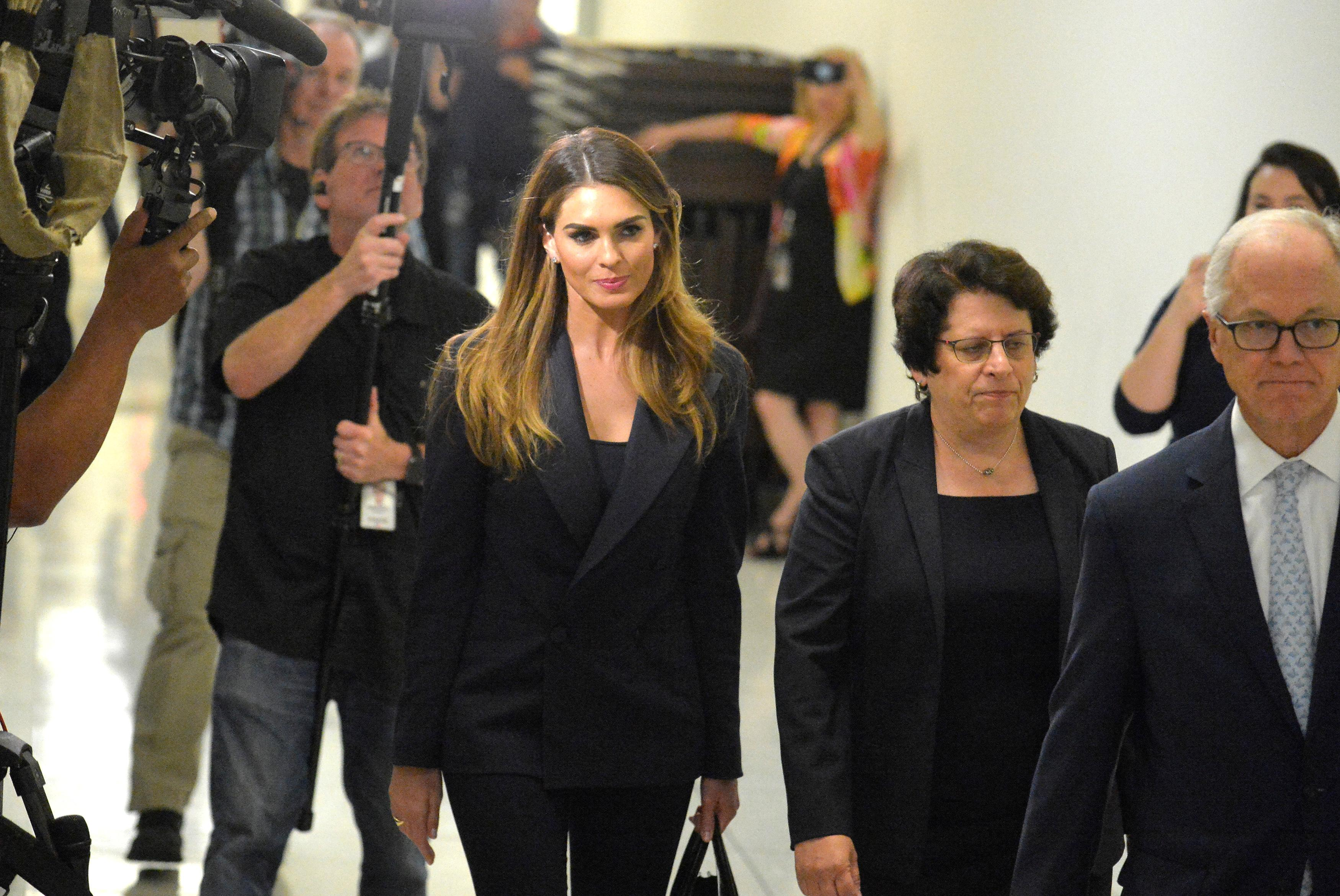 Former Trump aide Hope Hicks frustrates Democrats with limited testimony