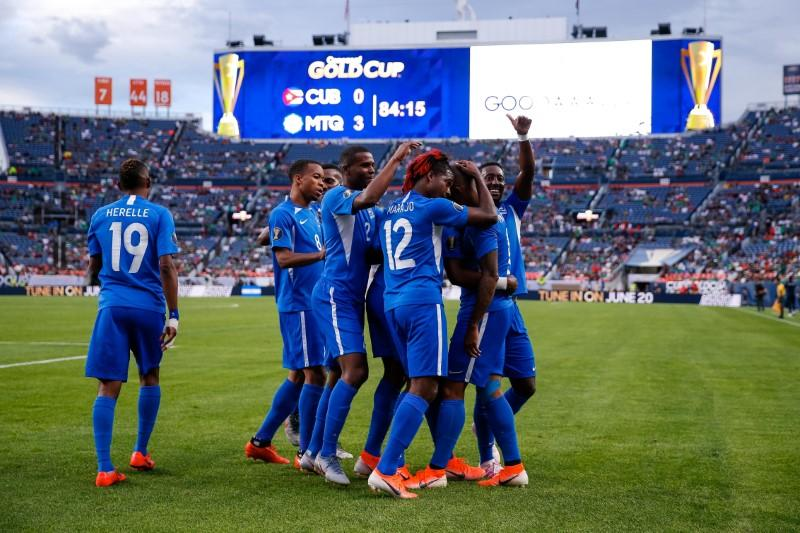 Martinique thrash Cuba 3-0 at Gold Cup