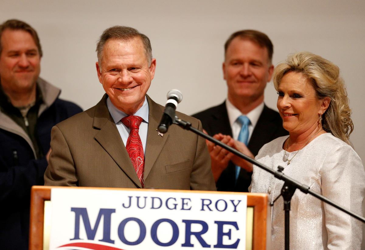Image result for Alabama Republican Roy Moore weighs 2020 Senate bid despite party opposition