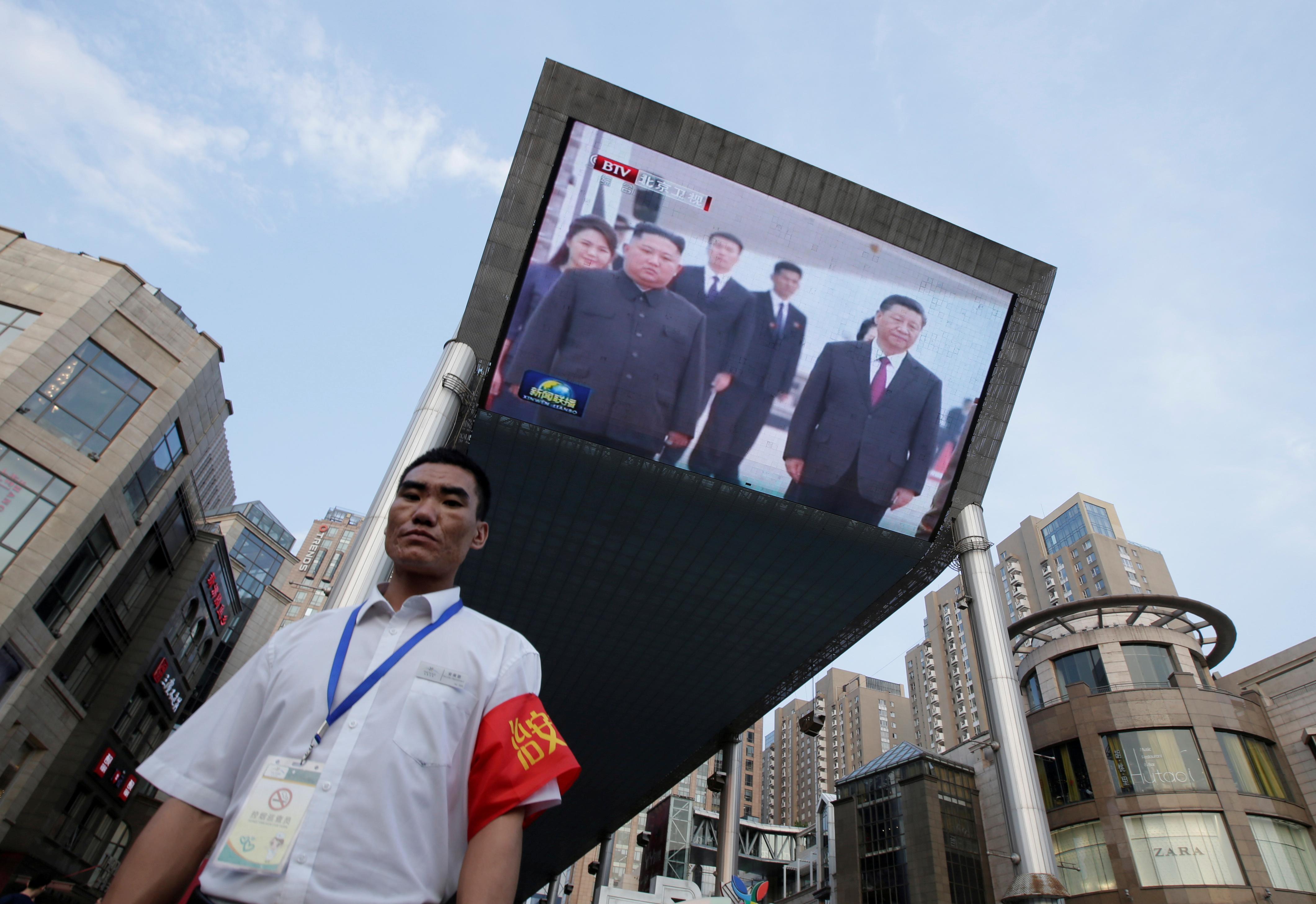 China's Xi says world hopes North Korea-U.S. talks can succeed