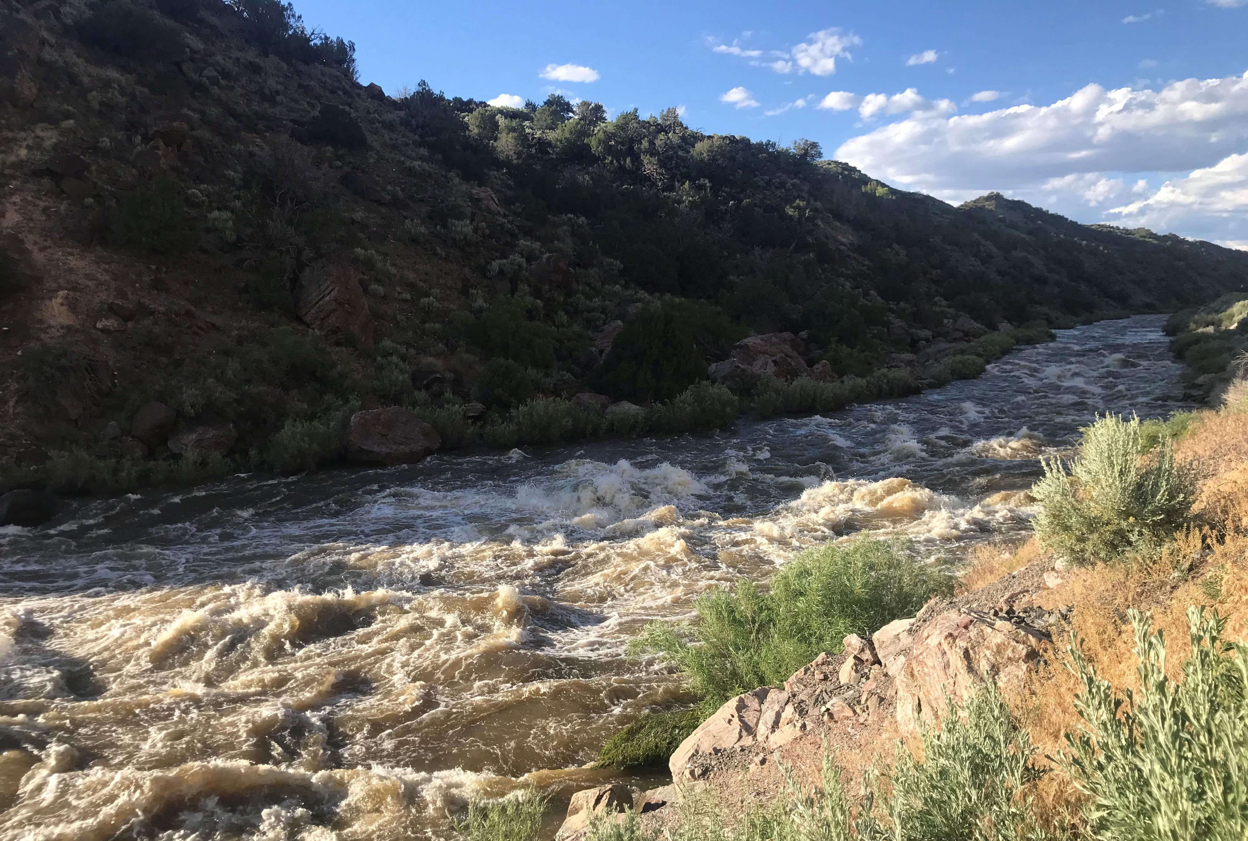 In warming West, Rio Grande roars back to life, for now