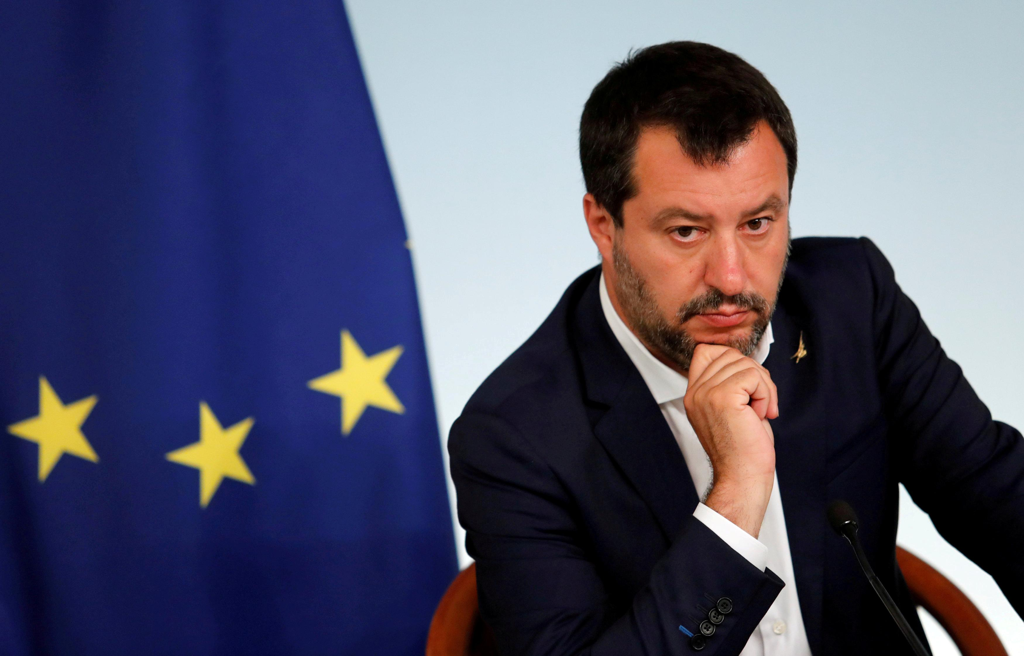 Deputy PM Salvini says no commitments on 2020 budget deficit