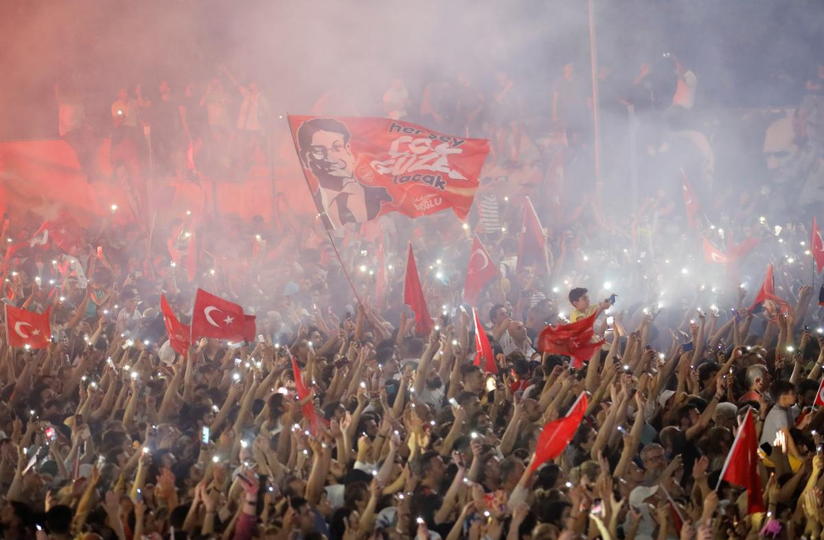 Blow to Turkey's Erdogan as opposition wins big in Istanbul