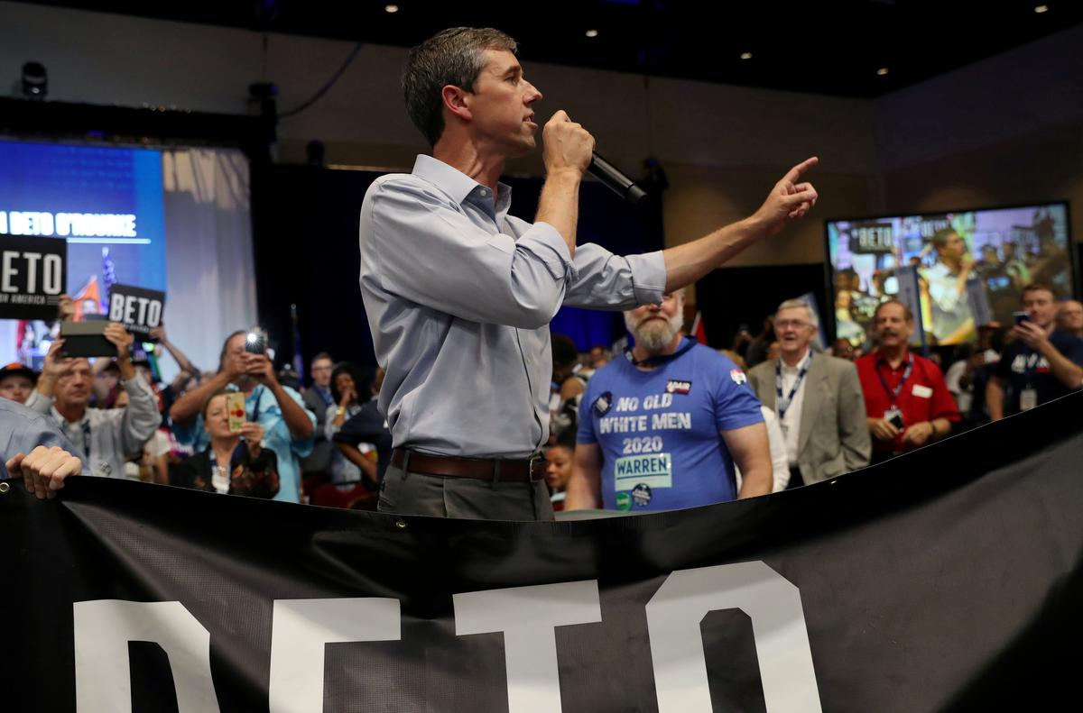 Democrat O'Rourke proposes 'war tax' on affluent U.S. families without military members