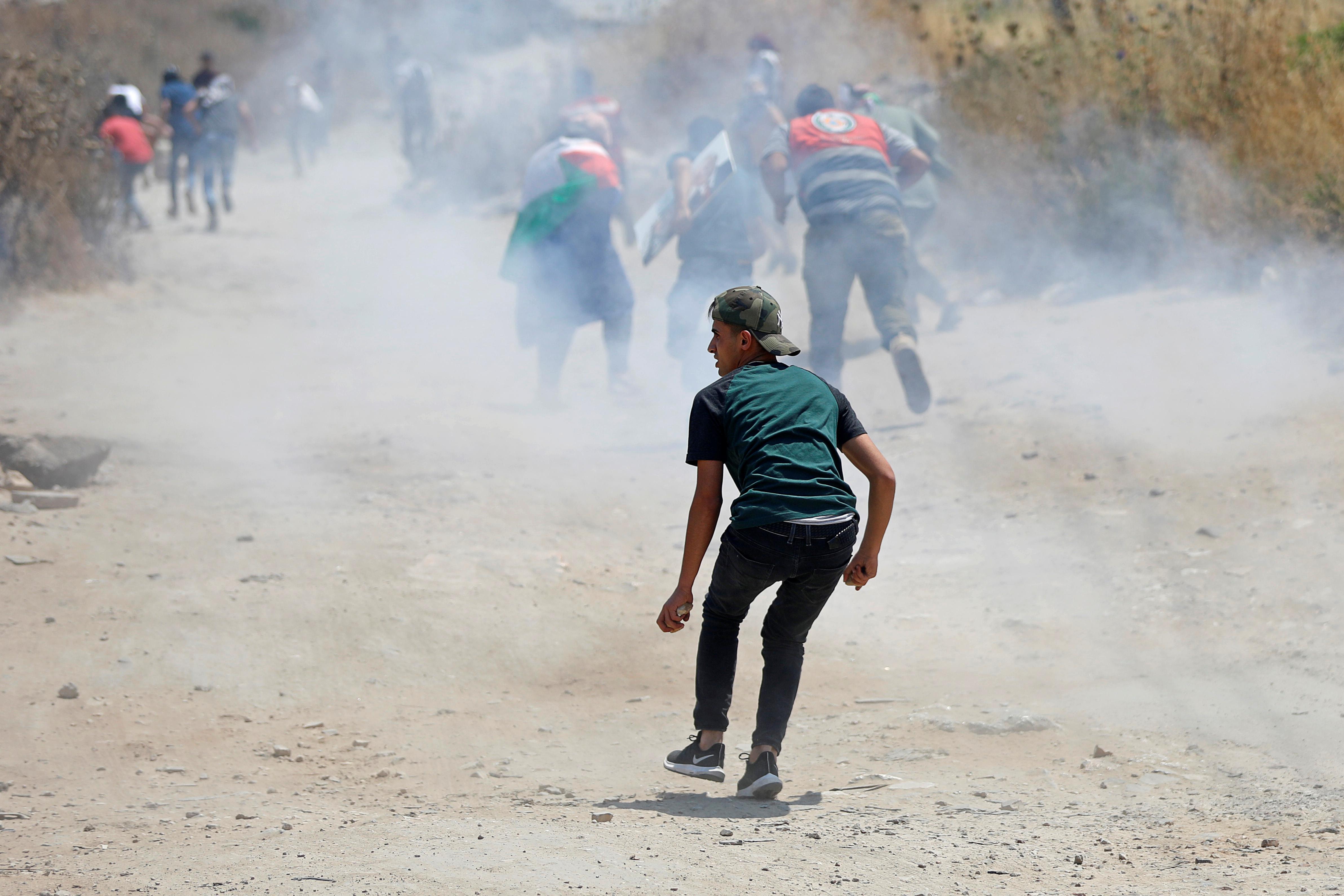 Palestinians rally against Kushner's economic peace plan