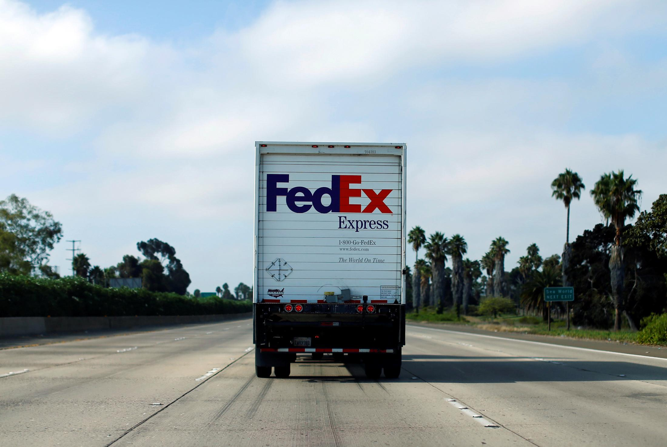 FedEx sues U.S. government over 'impossible' task of policing exports to China