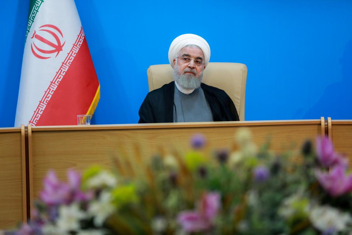 "Image result for President Hassan Rouhani of Iran called the White House ""mentally retardedâ€"