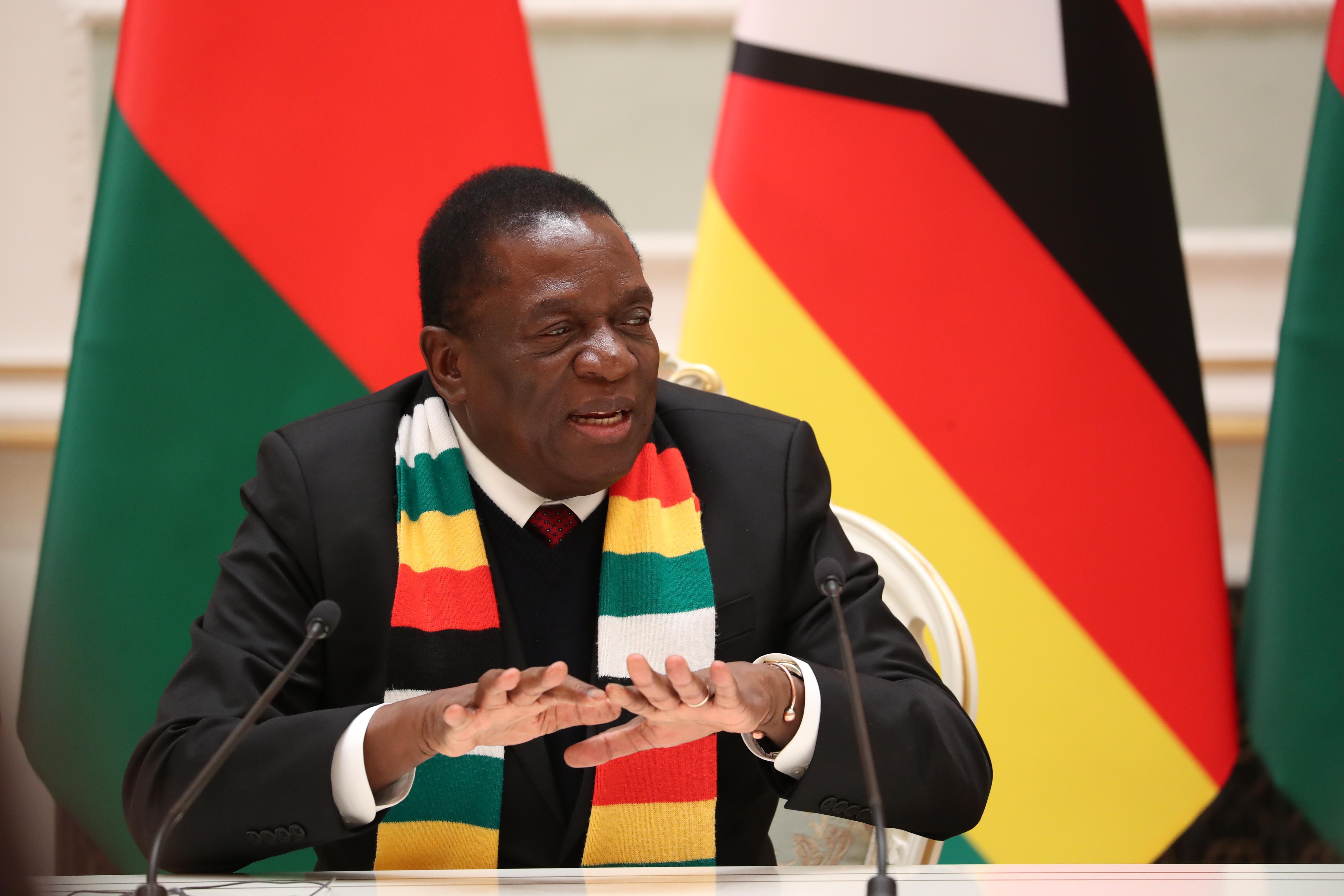 Zimbabwe's Mnangagwa talks up currency reform but business wary