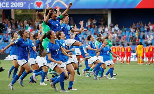 Women's World Cup: Italy 2 - China 0