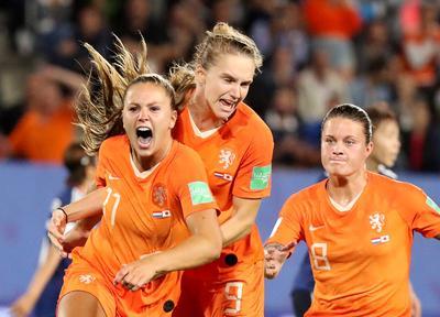 Women's World Cup: Netherlands 2 - Japan 1