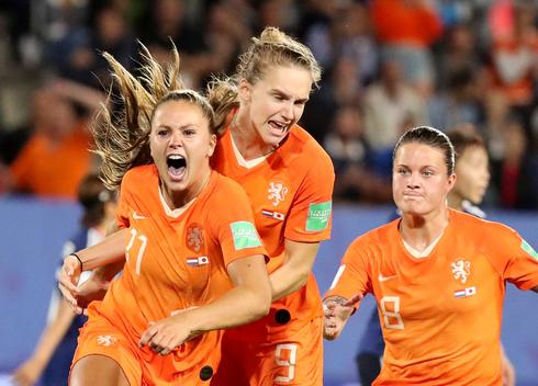 Women's World Cup: Netherlands 2 - Japan 1
