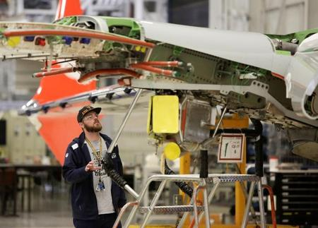 Boeing looms large over struggling U.S. manufacturing sector